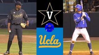 #5 Vanderbilt vs #2 UCLA | 2020 College Baseball Highlights