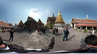 TOP10 BEST TEMPLE in Thailand   ''Wat Phra Kaew' 360vr Point View #08