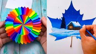 DIY Creative Art, Amazing And Cool Ideas