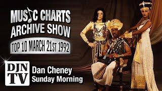 Top 10 For March 21, 1992 | Music Charts Archive Show with Dan Cheney on #DJNTV