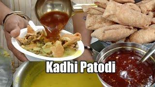 Kadhi Patodi at Zilla Nagpur | Nagpur's Most Popular Breakfast | Nagpur Street Food