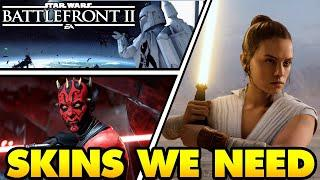 Top 10 Hero and Villain Skins we NEED in Star Wars Battlefront 2!