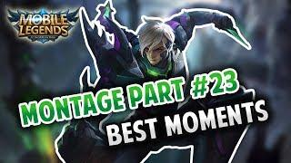 GUSION FAST HAND MONTAGE #23   ULTRA FAST HAND   MOBILE LEGENDS BANG BANG