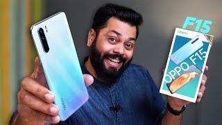 OPPO F15 Unboxing & First Impressions ⚡⚡⚡ Slim and Lightweight!!!