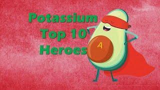 Top 10 Potassium Food heroes
