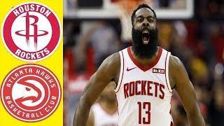 Houston Rockets vs Atlanta Hawks - Full Game Highlights   2019-20 NBA Season