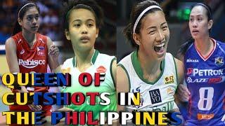 Top 10 Extreme Cut Shots/Crazy Angle | PHILIPPINE WOMEN'S VOLLEYBALL |Saori Kimura of PHILIPPINES?