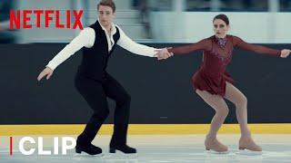 Kat & Justin's Short Program Ice Skating Routine | Spinning Out | Netflix