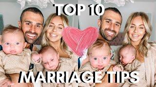 TOP 10 RELATIONSHIP/MARRIAGE TIPS | Lucy Jessica Carter