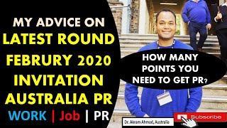 Latest Round Update January 2020 of Australia PR application | AUSTRALIA PR