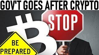 CONFIRMED! GOV'T GOING AFTER OUR CRYPTO! - VET MICROSOFT PARNERSHIP! - MY BITCOIN BUY SIGNAL!
