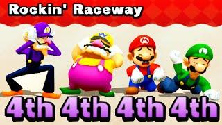 Mario Party: The Top 100 Minigames #60 Waluigi vs Wario vs Mario vs Luigi (Master Difficult)