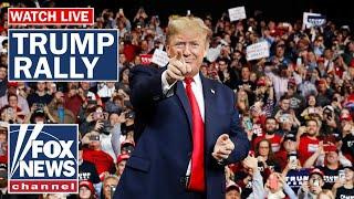 Trump holds Keep America Great rally ahead of Super Tuesday vote