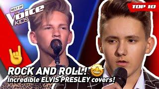 TOP 10 | Amazing ELVIS PRESLEY covers in The Voice Kids!