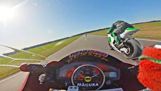 Yamaha R6 Top Speed Road Race VS Moto2
