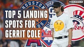 Gerrit Cole to the Yankees? Top 5 Landing Spots for MLB Free Agent Gerrit Cole | CBS Sports HQ