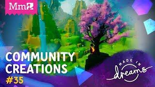 CoMmunity Creations #35   Dreams INSIDE Dreams?!   #DreamsPS4