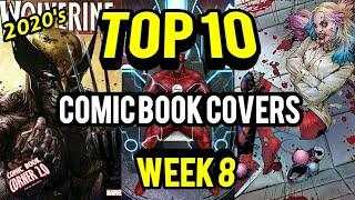 TOP 10 Comic Book Covers | Week 8