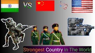 | top 10 powerful country | strongest country in the world | in the world | 2021 | in Hindi |
