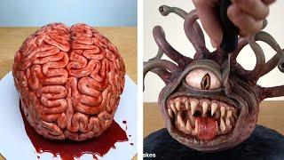 Top 10 Creative Halloween Cake Recipes | So Yummy Halloween Chocolate Cake  Recipe