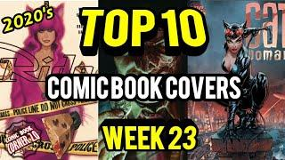 Top 10 Comic Book Covers Week 23 | New Comic Books 6/03/20