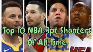 Ranking The Top 10 NBA 3 Point Shooters Of All Time (2020) - By The Numbers - 100% Unbiased