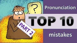Top 10 mispronounced words! | Difficult Pronunciation | Common Mistakes | Part 2 | Trust Yourself