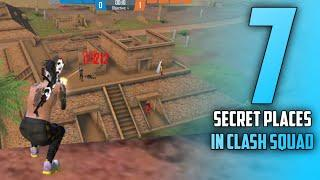 Top 7 Clash Squad Secret Places in Free Fire | Clash Squad Tips and Tricks para SAMSUNG,A3,A5,A6,A7,