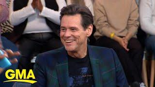 Jim Carrey talks about his new film, 'Sonic the Hedgehog' | GMA