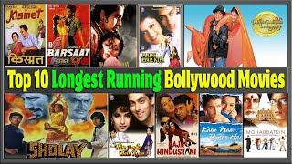 Top 10 Longest Running Bollywood Movies List | Top 10 Longest Running Films of All Time.