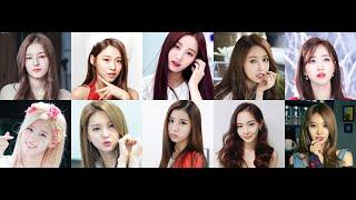 My Top 10 Super Gorgeous Korean Girl Group Member Part 1