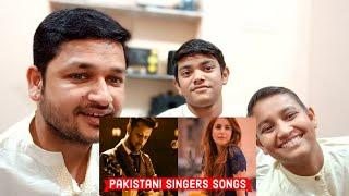Top 10 Most Viewed Pakistani Singers Songs on Youtube of All Time|| REACTION