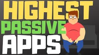 Top 10 Highest Paying Passive Apps (How To Make Money Online In 2020)