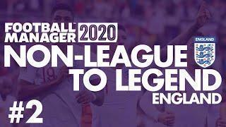 Non-League to Legend FM20 | ENGLAND | Part 2 | SOUTH KOREA | Football Manager 2020