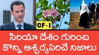 Facts About Syria Country | Top 10 Facts in Telugu | Country Facts-1 | Telugu University |