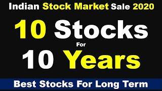 Top 10 Stocks for Long Term | Multibagger Stocks | Best Stocks to Invest in 2020