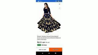 Top 10 fashionable dresses for girl and women both on flipkart under 500 and more