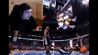 British guy reacts to The Top 10 NBA Dunks Of All Time