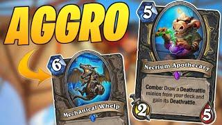 Is this the BEST AGGRO ROGUE? | Aggro Rogue | Descent of Dragons | Wild Hearthstone