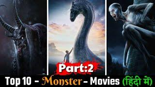 Hollywood Top 10 Best Monster Movies In Hindi Part 2 | Best Hollywood Movie In Hindi