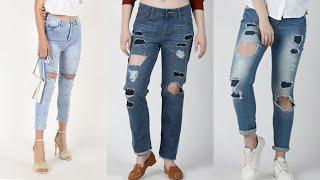 latest stylish jeans collection 2020| jeans top design for girls | trendy jeans top|new jeans design