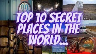 Top 10 Secret Places In The World | Secret Place | Mysterious Place | Unknown Place | Banned place |