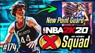 NO MONEY SPENT SQUAD!! #174 | We Add The BEST PINK DIAMOND POINT GUARD In NBA 2K20 MyTEAM