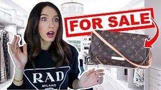 I'm SELLING My Luxury Designer Handbags?! (OMG)