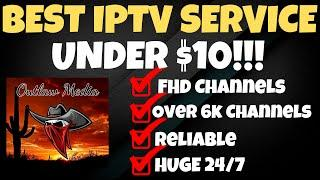 THE BEST IPTV SERVICE UNDER $10! YOU DONT WANT TO MISS THIS!!