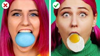 CRAZY EGG TRICKS! 19 Cool Egg Hacks & Easter Ideas by Crafty Panda