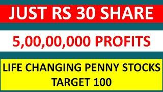Top 2 Penny Stock that will change the life of Investors | Start with Just Rs 30 in Share Market