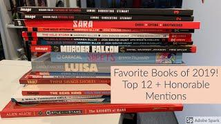 Favorite Books of 2019! Top 12 + Honorable Mentions!