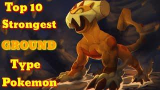 Top 10 strongest Ground type pokemon. Explained in hindi. By Toon Clash.