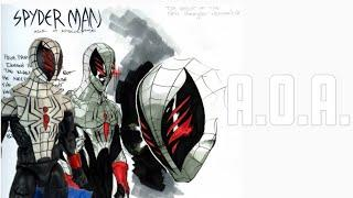 """A.O.A. (Age of Apocalypse) Cutsom Marvel Legends Spider-Man 6"""" action figure review"""